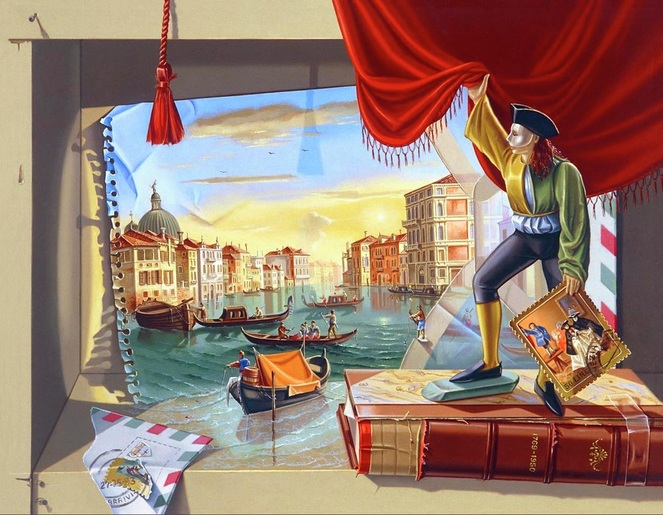 THE LETTER FROM VENICE by SONIA MENNA BARRETO