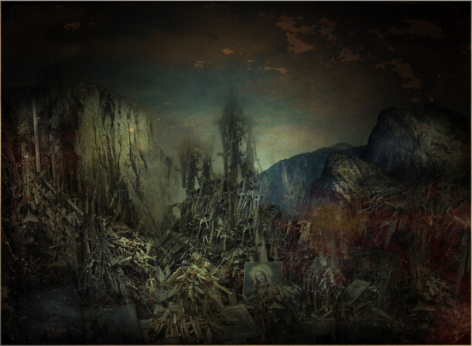 UNHOLY MOUNTAIN by HANS BAUER