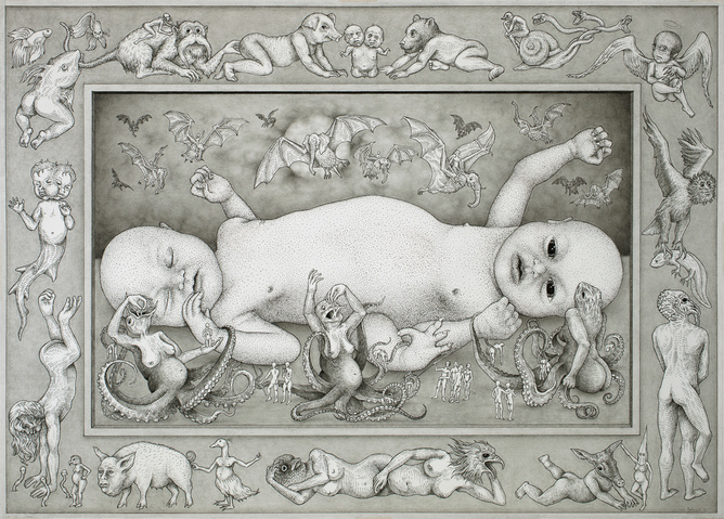 TODDLERPEDE by JON BEINART